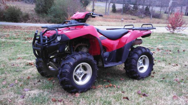 Going To Look At A 2005 Kawasaki Brute Force 750 What To