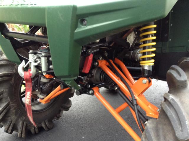 Brute Force HighLifter 9 inch suspension lift Gorilla axles